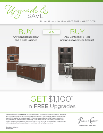 Pelton & Crane Upgrade and Save Cabinetry Promotion